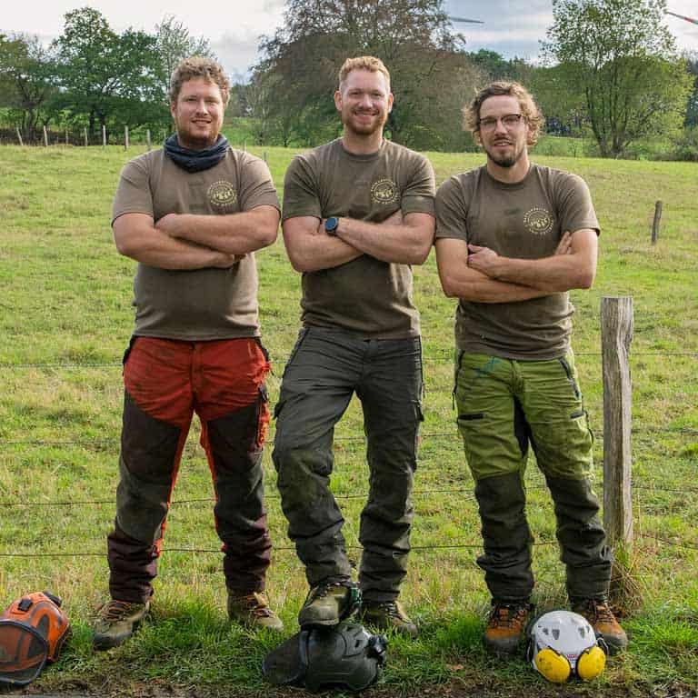 Professionelle Baumpflanzung - Daniel von Gottberg und sein Team