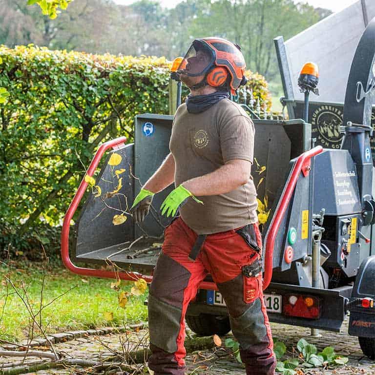 Effektiver Baumschutz auf Baustellen